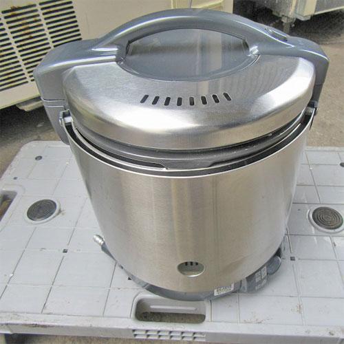 【中古】《大幅値下》ガス炊飯器 リンナイ RR-S100GS 幅309×奥行292×高さ349 都市ガス 【送料無料】【業務用】