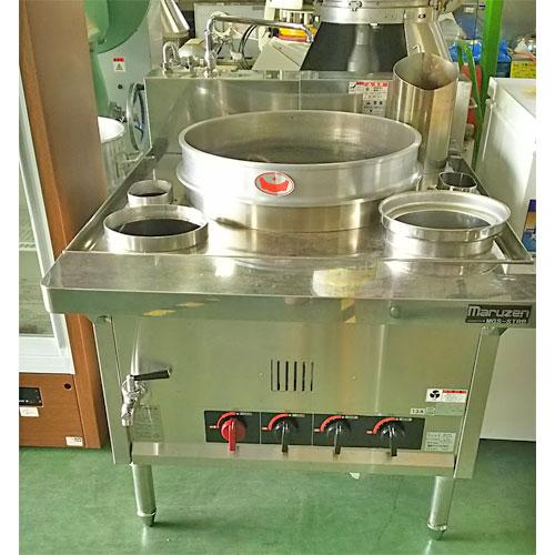 【中古】ゆで麺機 BG マルゼン MGS-STRB 幅900×奥行1135×高さ772 都市ガス 【送料無料】【業務用】