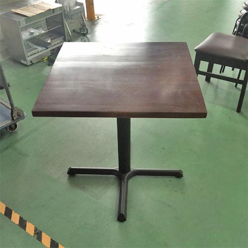 【中古】テーブル 幅700×奥行700×高さ720 【送料別途見積】【業務用】