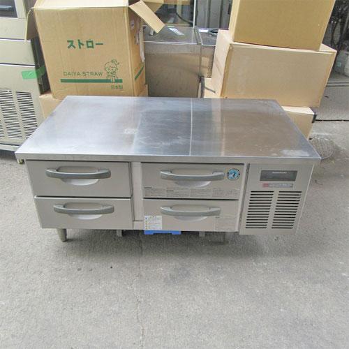 【中古】低ドロワーコールドテーブル ホシザキ RTL-120DDC-R 幅1200×奥行750×高さ600 【送料別途見積】【業務用】