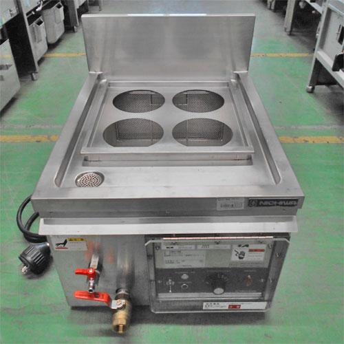 【中古】電気ゆで麺機 ニチワ電機 ENB-450 幅450×奥行550×高さ340 三相200V/業務用/送料別途見積