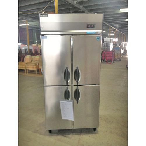 【中古】縦型冷凍冷蔵庫 大和冷機 313YS1-EC 幅900×奥行650×高さ1890 三相200V 【送料別途見積】【業務用】【厨房機器】