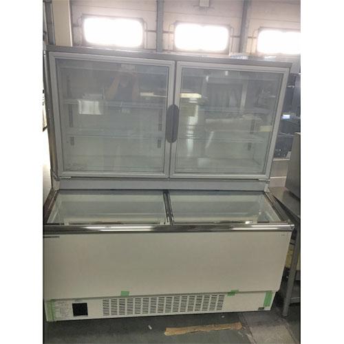 【中古】冷凍ショーケース パナソニック(Panasonic) SCR-D1503NB 幅1500×奥行800×高さ1660 三相200V 【送料無料】【業務用】【厨房機器】