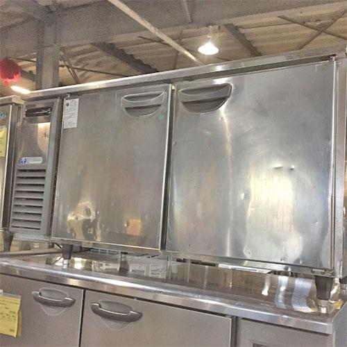【中古】冷凍冷蔵コールドテーブル 福島工業(フクシマ) TRC-51PM 幅1500×奥行600×高さ800 【送料別途見積】【業務用】【厨房機器】