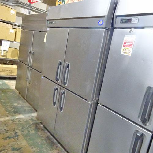 【中古】縦型冷凍冷蔵庫 三洋電機 SRR-J1283C2V 幅1200×奥行800×高さ1900 三相200V 【送料別途見積】【業務用】【厨房機器】