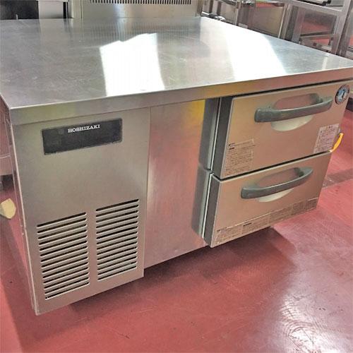 【中古】冷蔵ドロワーコールドテーブル ホシザキ RTL-90DDC-SYI 幅900×奥行750×高さ600 【送料無料】【業務用】【厨房機器】