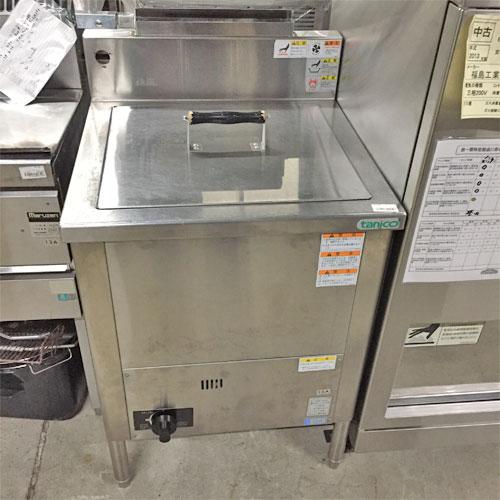 【中古】煮沸消毒器 タニコー N-TGS-60S 幅600×奥行600×高さ800 都市ガス 【送料無料】【業務用】
