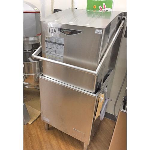 【中古】食器洗浄機 ホシザキ JWA-680A 幅640×奥行655×高さ1432 三相200V 50Hz専用 都市ガス 【送料別途見積】【業務用】