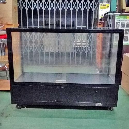 【中古】ガラスショーケース 幅1200×奥行600×高さ920 【送料別途見積】【業務用】