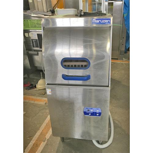 【中古】食器洗浄機 マルゼン MDRTB6E 幅600×奥行600×高さ1370 三相200V 【送料無料】【業務用】