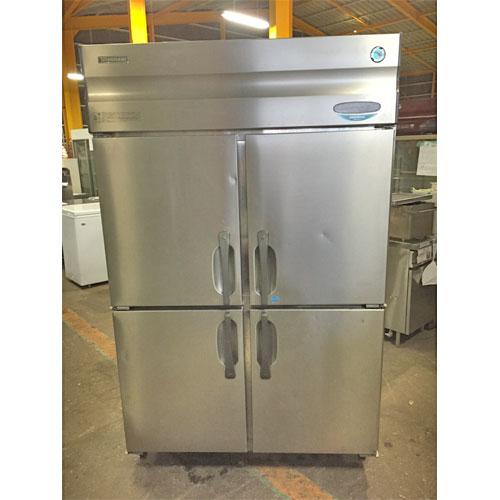 【中古】縦型冷凍冷蔵庫 ホシザキ HRF-120XT3 幅1200×奥行650×高さ1900 三相200V 【送料無料】【業務用】【厨房機器】
