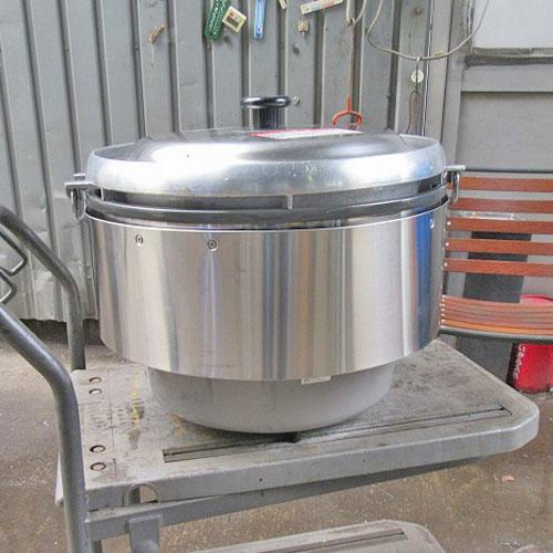 【中古】ガス炊飯器 リンナイ RR-50S2 幅525×奥行481×高さ447 都市ガス/業務用/送料別途見積