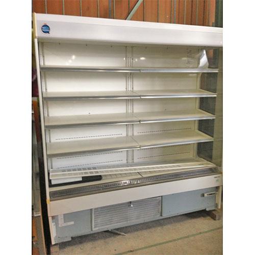 【中古】冷蔵多段オープンショーケース 三洋電機 SAR-U690V 幅1790×奥行670×高さ1900 三相200V 【送料別途見積】【業務用】