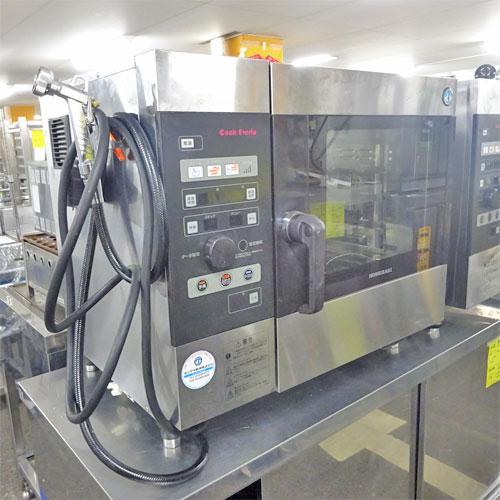 【中古】電気スチームコンベクションオーブン ホシザキ MIC-5TA3 幅750×奥行560×高さ680 三相200V 【送料別途見積】【業務用】