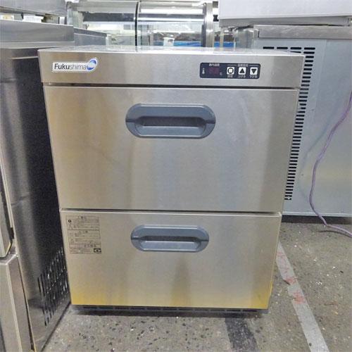 【中古】小型冷凍庫 フクシマガリレイ(福島工業) VMC-055FM2 幅555×奥行600×高さ740 【送料別途見積】【業務用】