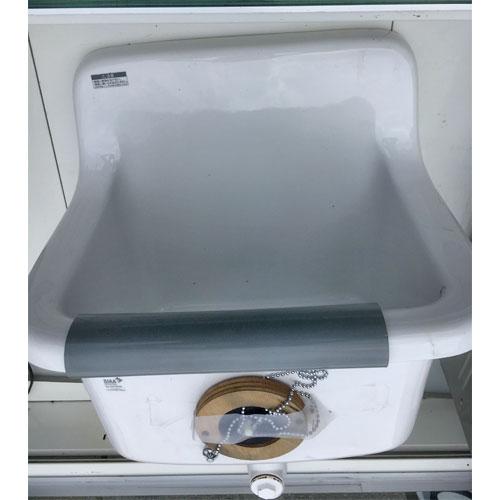 【中古】手洗い器 大 幅560×奥行480×高さ900 【送料無料】【業務用】
