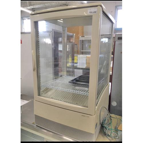 【中古】卓上4面ガラスショーケース 三洋電機 SMR-C65F 幅457×奥行442×高さ875 【送料別途見積】【業務用】【厨房機器】