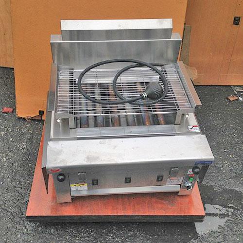 【中古】電気グリラー マルゼン MEK-306C 幅650×奥行600×高さ320 三相200V 【送料別途見積】【業務用】