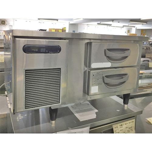 【中古】ドロワーコールドテーブル 福島工業(フクシマ) TBC-30RM 幅900×奥行600×高さ550 【送料別途見積】【業務用】【厨房機器】