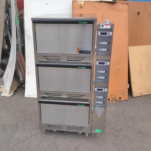 【中古】立体炊飯器 HATTORI LGS-150 幅725×奥行640×高さ1280 LPG(プロパンガス) 【送料無料】【業務用】【厨房機器】
