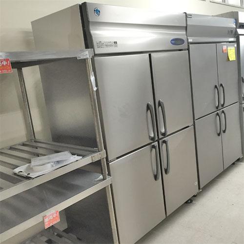 【中古】縦型冷凍冷蔵庫(2:2) ホシザキ HRF-120ZFT 幅1200×奥行650×高さ1890 【送料別途見積】【業務用】【厨房機器】