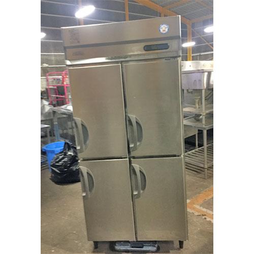 【中古】縦型冷蔵庫 フクシマガリレイ(福島工業) URD-090RMD6 幅900×奥行800×高さ1950 三相200V 【送料無料】【業務用】