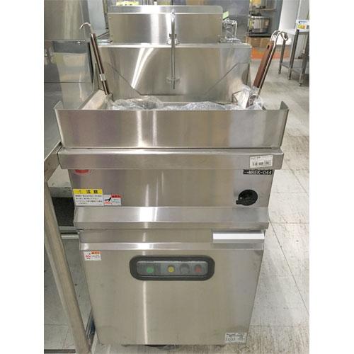 【中古】電気ゆで麺機 マルゼン MREK-044-8573-8 幅450×奥行450×高さ800 三相200V 【送料別途見積】【業務用】