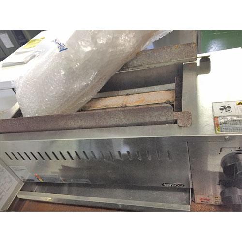【中古】下火式焼物器 タニコー TMS-TIG-2K-038438 幅620×奥行290×高さ240 都市ガス 【送料別途見積】【業務用】