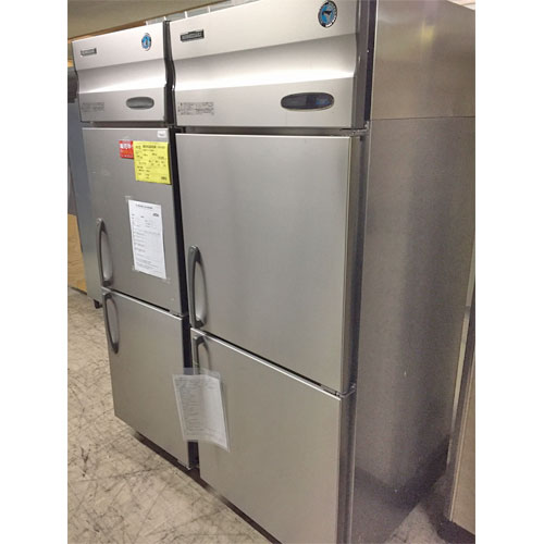 【中古】縦型冷凍庫 ホシザキ HF-75X 幅750×奥行800×高さ1890 【送料別途見積】【業務用】