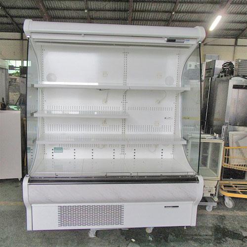 【中古】多段冷蔵オープンショーケース Okamura UL00SPS4283 幅1605×奥行970×高さ1900 三相200V 50Hz専用 【送料無料】【業務用】【厨房機器】
