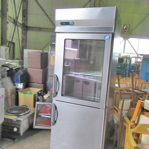 【中古】縦型冷蔵庫 三洋電機 SRR-G781 幅745×奥行800×高さ1950 【送料無料】【業務用】【厨房機器】