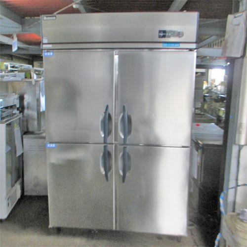 【中古】縦型冷凍冷蔵庫 大和冷機 433HS2 幅1200×奥行800×高さ1905 三相200V 【送料別途見積】【業務用】