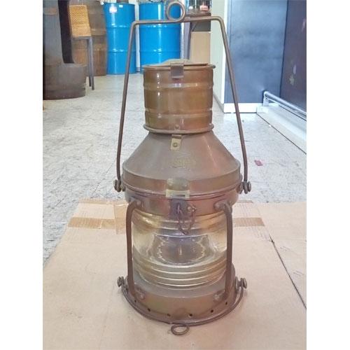【中古】マリンランプ (オイルランプ)M 幅200×奥行195×高さ430 【送料無料】【業務用】