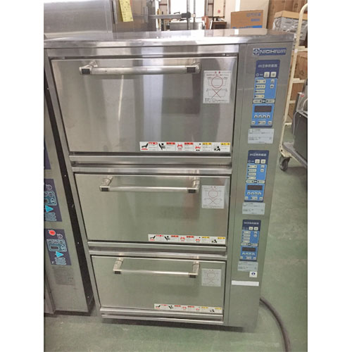 【中古】IH電磁立体炊飯器 ニチワ電機 MIRC-27N 幅770×奥行650×高さ1345 三相200V 【送料別途見積】【業務用】