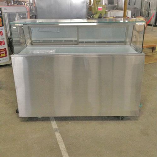 【中古】冷蔵庫 ホサカ PE-07506 幅1510×奥行850×高さ1150 【送料別途見積】【業務用】【厨房機器】
