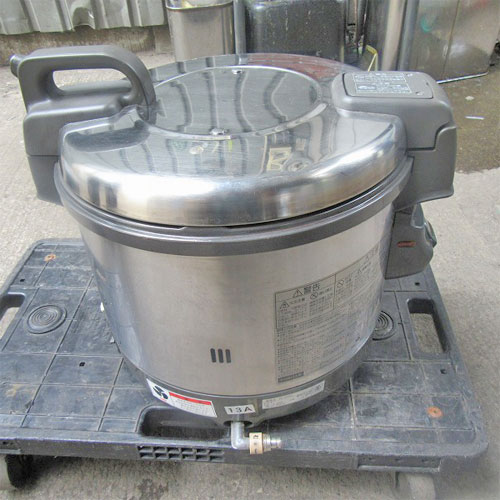 【中古】《大幅値下》ガス炊飯器 パロマ PR-4200S 幅438×奥行371×高さ385 都市ガス 【送料無料】【業務用】