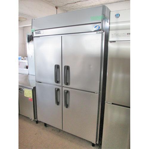 【中古】縦型冷蔵庫 パナソニック(Panasonic) SRR-J1261VSA 幅1200×奥行650×高さ1980 【送料別途見積】【業務用】