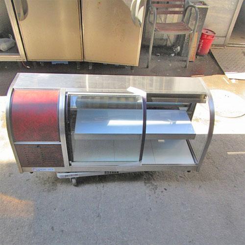 【中古】冷蔵ショーケース 大穂製作所 OHLMB-120L-F 幅1200×奥行395×高さ515 【送料別途見積】【業務用】【厨房機器】