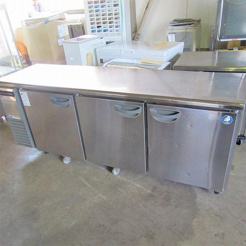 【中古】冷蔵コールドテーブル 福島工業(フクシマ) TRC-70RE 幅2100×奥行600×高さ820 【送料別途見積】【業務用】【厨房機器】