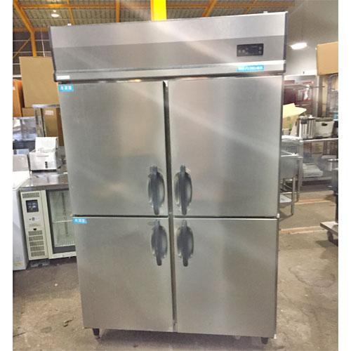 【中古】縦型冷凍冷蔵庫 大和冷機 471S2 幅1200×奥行800×高さ1890 【送料無料】【業務用】