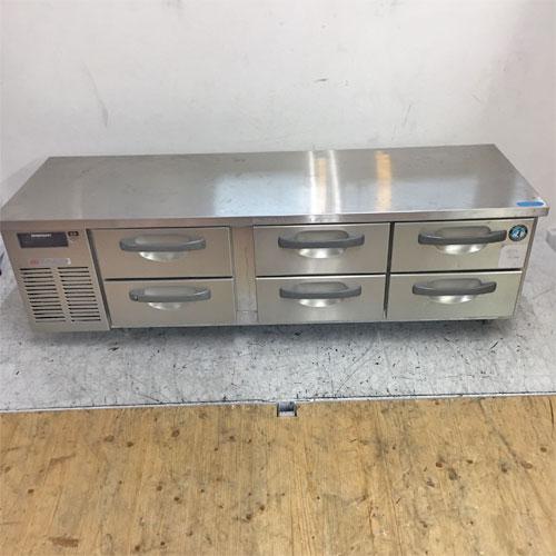 【中古】冷蔵ドロワーコールドテーブル ホシザキ RTL-165DNC 幅1600×奥行600×高さ500 【送料無料】【業務用】【厨房機器】