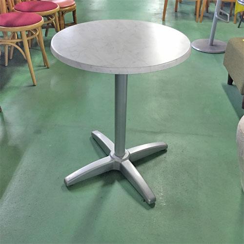 【中古】丸テーブル 幅600×奥行600×高さ720 【送料別途見積】【業務用】