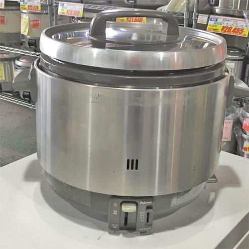 【中古】ガス炊飯器 パロマ PR-360SS 幅450×奥行390×高さ460 都市ガス 【送料別途見積】【業務用】