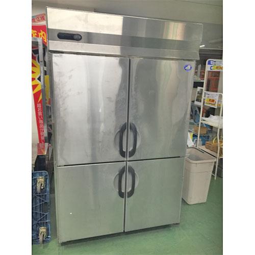 【中古】冷蔵庫 サンヨー SRR-F1283SA 幅1200×奥行800×高さ1900 三相200V 【送料別途見積】【業務用】【厨房機器】