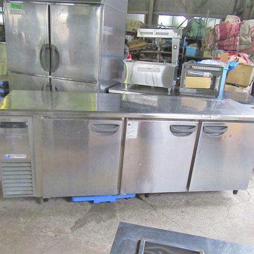 【中古】冷蔵コールドテーブル 福島工業(フクシマ) TRC-70RE 幅2100×奥行600×高さ800 【送料別途見積】【業務用】
