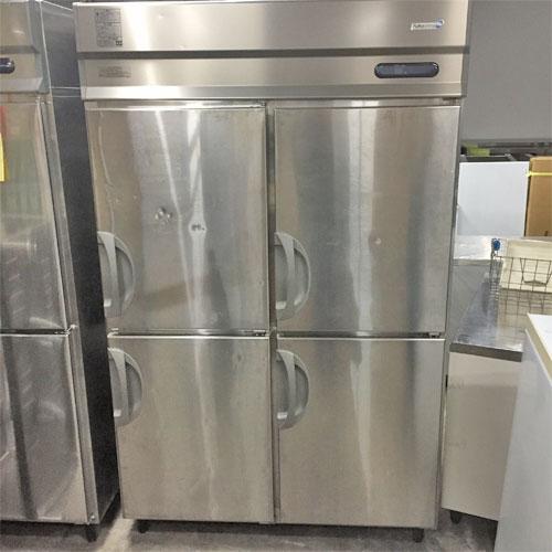 【中古】縦型冷蔵庫 福島工業(フクシマ) URD-120RMD 幅1200×奥行800×高さ1950 三相200V 【送料別途見積】【業務用】【厨房機器】