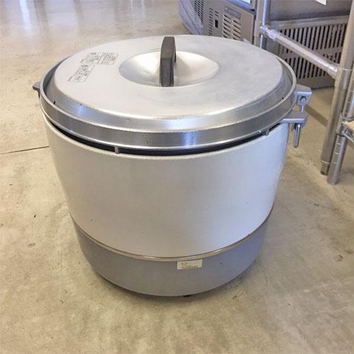 【中古】ガス炊飯器 リンナイ RR-30S1 幅460×奥行410×高さ370 都市ガス 【送料別途見積】【業務用】【厨房機器】