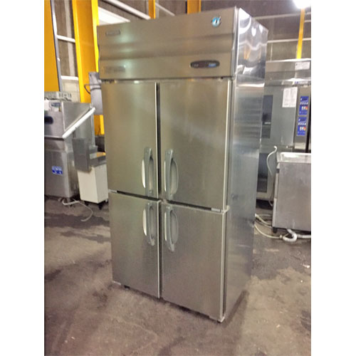 【中古】縦型冷凍庫 ホシザキ HF-90XT3 幅900×奥行650×高さ1890 三相200V 【送料別途見積】【業務用】【厨房機器】