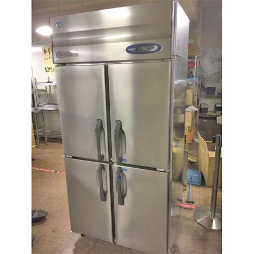 【中古】縦型冷凍冷蔵庫 ホシザキ HRF-90ZT 幅900×奥行650×高さ1900 【送料別途見積】【業務用】