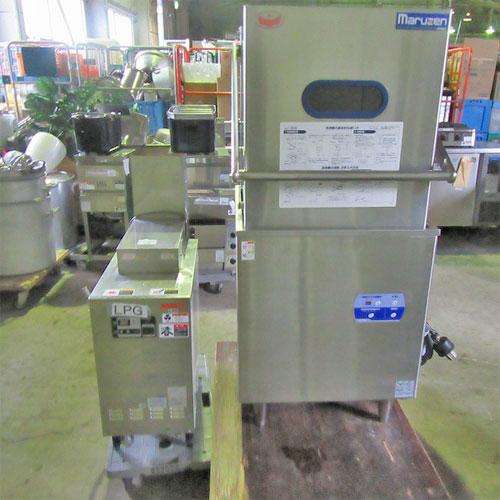 【中古】食器洗浄機 マルゼン MDDB7 幅640×奥行670×高さ1445 三相200V 【送料無料】【業務用】